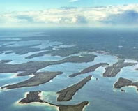 Les Cheneaux Islands East to West